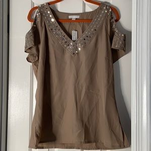NWT Beaded top